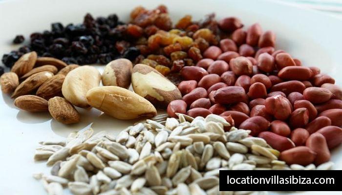 kacang kacangan dan biji bijian
